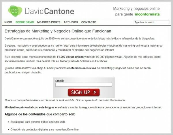 Blog David Cantone