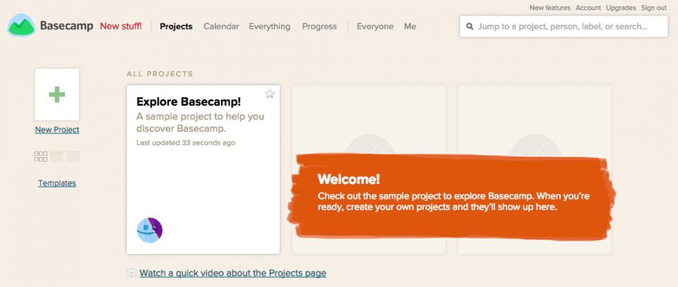 Basecamp comentarios