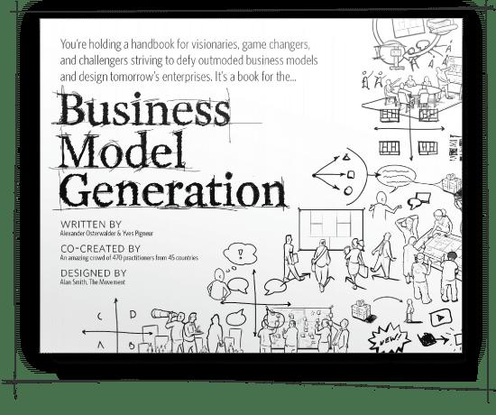 Portada del libro Business Model Generation de Alexander Osterwalder e Yves Pigneur