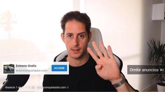 Campaña de video de Google Ads
