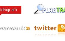 4 herramientas de marketing de contenidos: Infogr.am, Plagtracker, Followerwonk y Twitterfeed