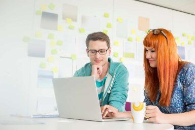 gestión empresarial con un software ERP