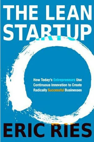 Portada del libro The Lean Startup de Eric Ries