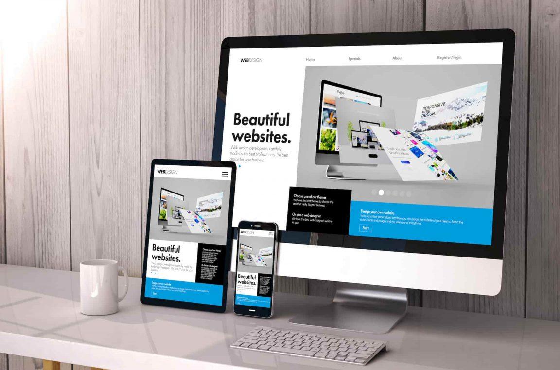 diseño web responsive desde diferentes dispositivos
