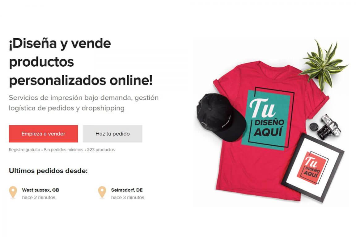 vender productos personalizados